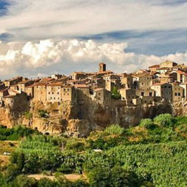 Accommodations in Pitigliano